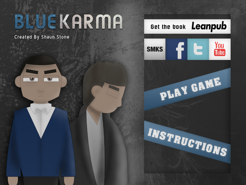 Blue Karma Main Menu